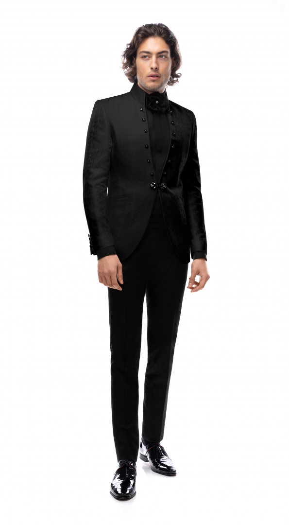 Filip Cezar Black Rhapsody Suit