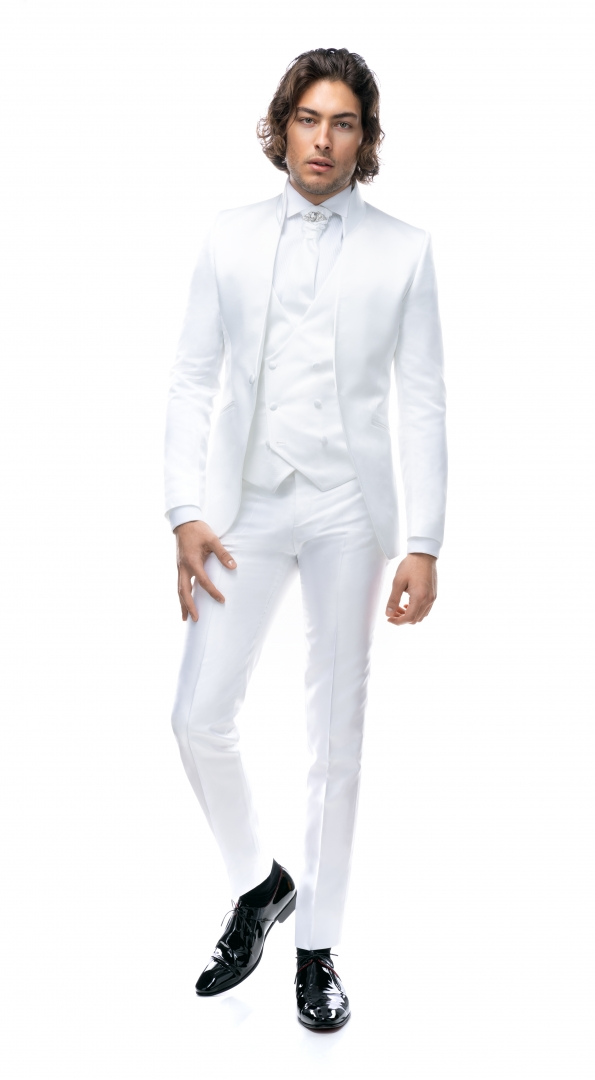 Filip Cezar White Fantasy Suit