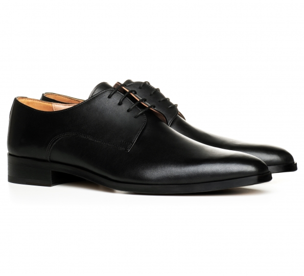 Filip Cezar Derby Black Shoes