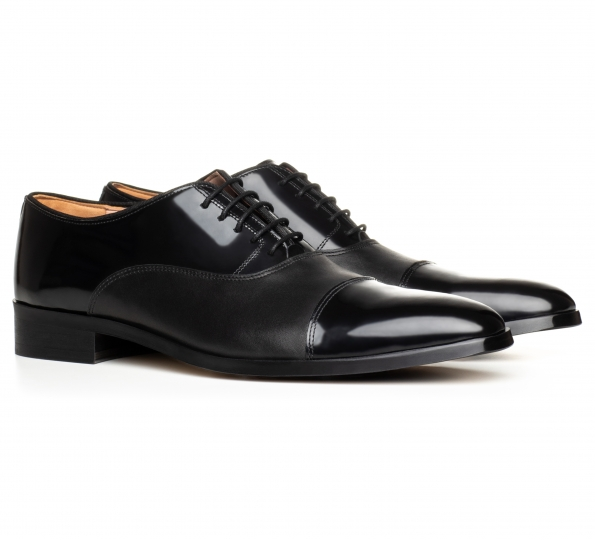 Filip Cezar Luxury Black Shoes