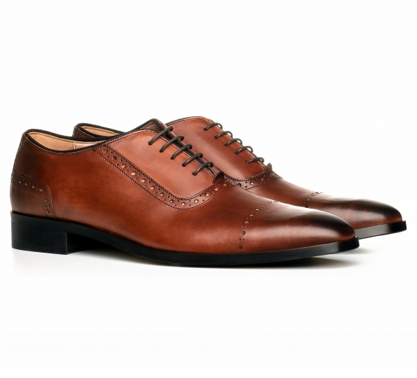 Filip Cezar Brown Oxford Shoes