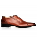 Pantofi Filip Cezar Brown Oxford