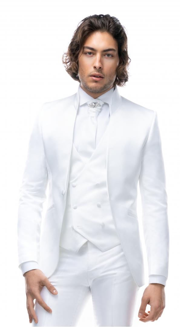 Filip Cezar White Fantasy Jacket