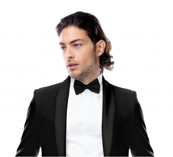 Filip Cezar Classic Black Bow Ties