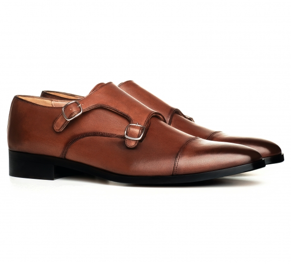 Filip Cezar Double Strap Shoes