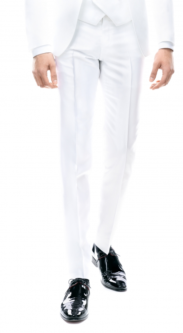 Filip Cezar White Pants