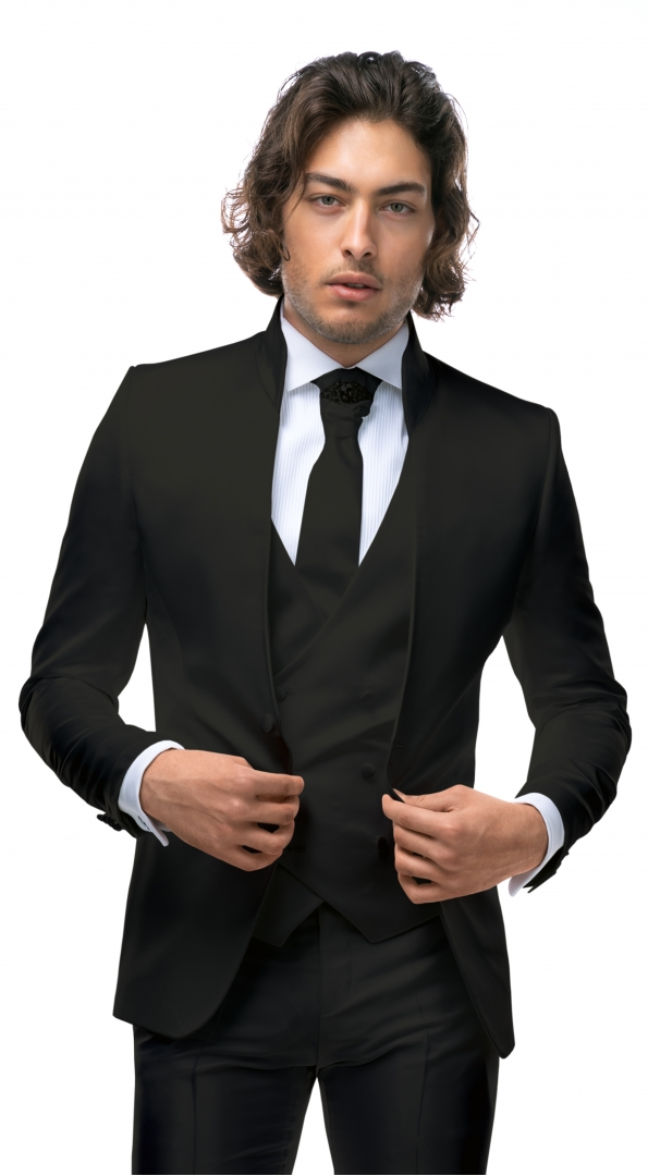 Filip Cezar Black Fantasy Jacket