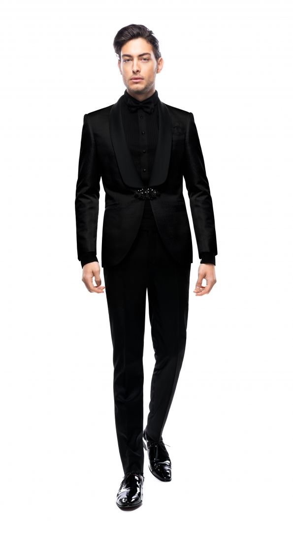 Filip Cezar Transient Black Suit