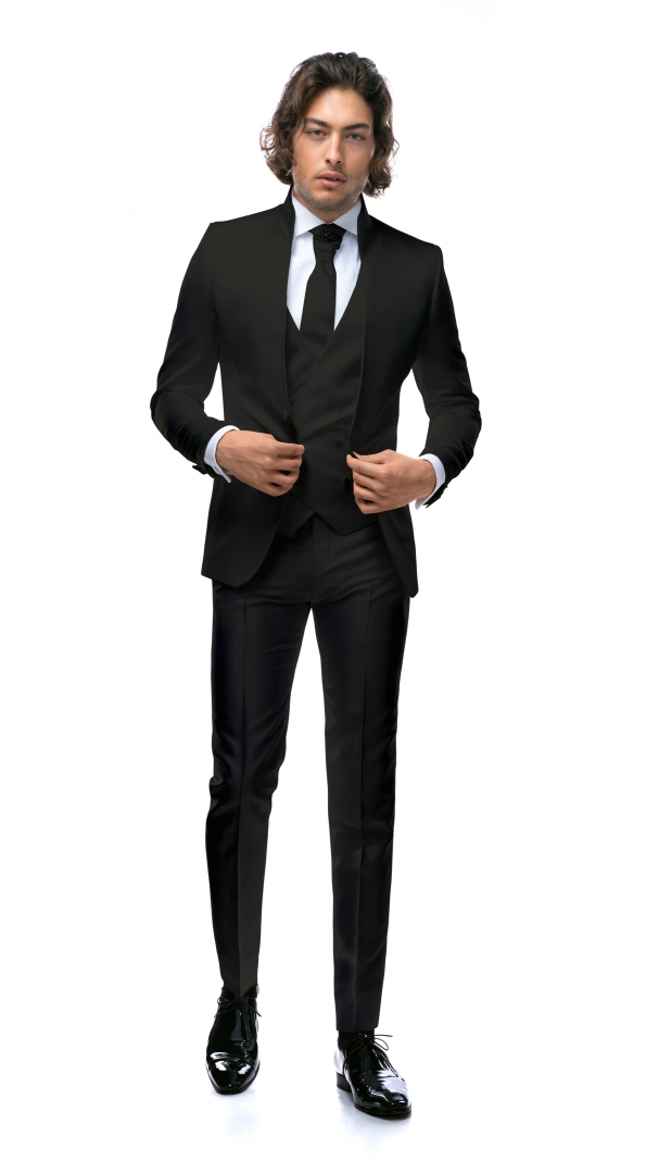 Filip Cezar Black Fantasy Suit