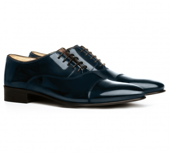 Filip Cezar Luxury Blue Shoes