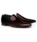 Pantofi Filip Cezar Patent Red Slippers