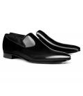 Filip Cezar Patent Black Loafers Shoes