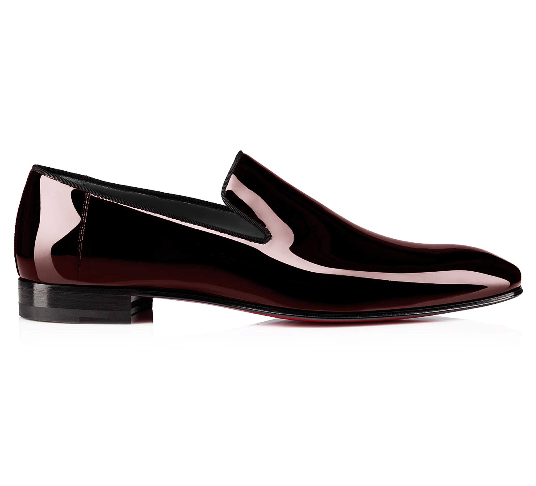 Pantofi la comanda pentru barbati, vopsiti manual intr-o nuanta de maro-bordo, in Loafer, marca Filip Cezar.