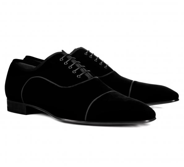 Pantofi Filip Cezar Black Velvet