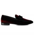 Pantofi Filip Cezar Luxury Red Velvet