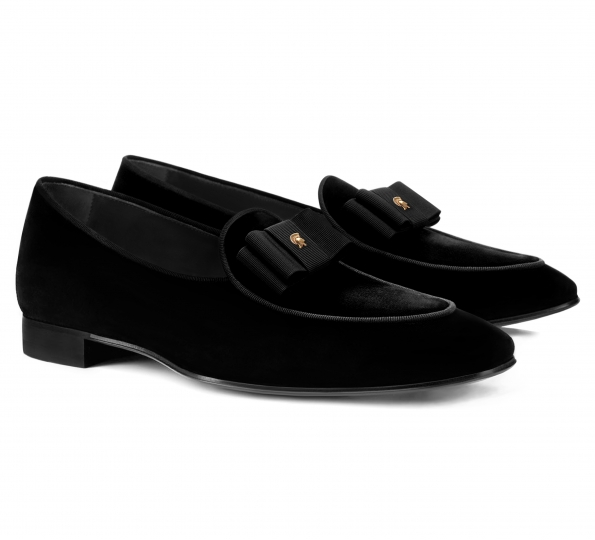 Filip Cezar Luxury Velvet Shoes