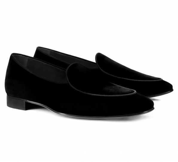 Filip Cezar Pamele Black Shoes