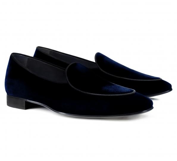Pantofi Filip Cezar Pamele Blue