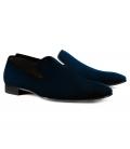Filip Cezar Velvet Touch Blue Shoes