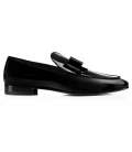 Pantofi Filip Cezar Luxury Black Loafers