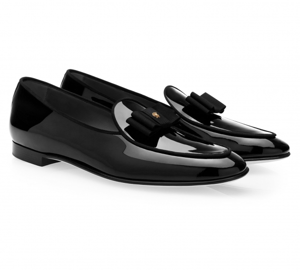 Filip Cezar Luxury Black Loafers Shoes