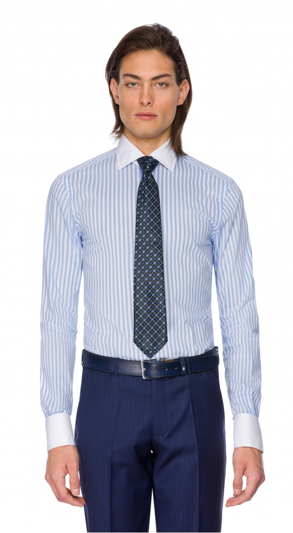 Filip Cezar Blue Lines Shirt