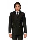 Filip Cezar Black & Gold Check Blazer