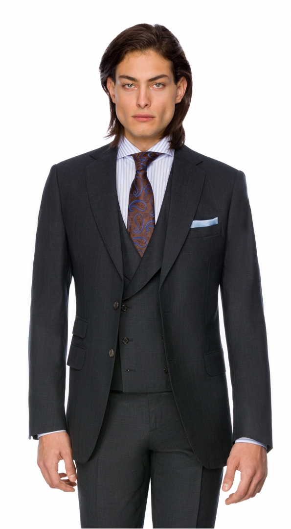 Filip Cezar Dark Grey Blazer