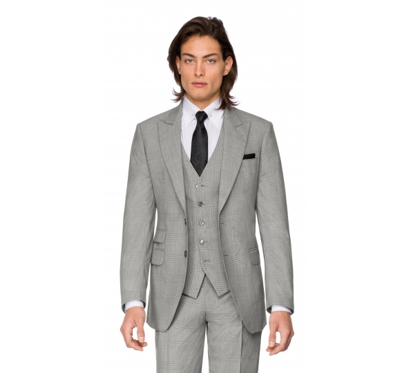 Sacou Filip Cezar Grey Check