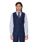 Costum Filip Cezar Navy Blue Stripe