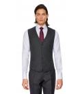 Costum Filip Cezar Grey Stripe