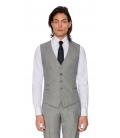 Costum Filip Cezar Grey Check