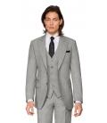 Filip Cezar Grey Check Waistcoat