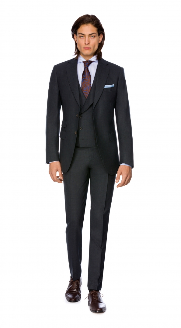 Filip Cezar Dark Grey Suit