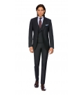 Filip Cezar Dark Grey Suit