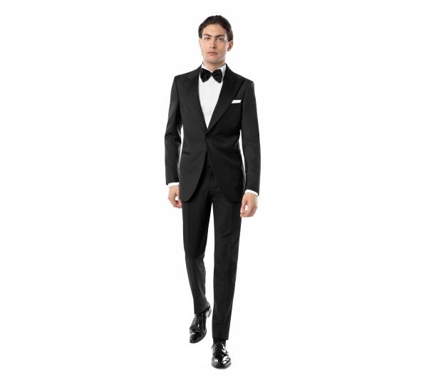 Filip Cezar Classic Black Suit