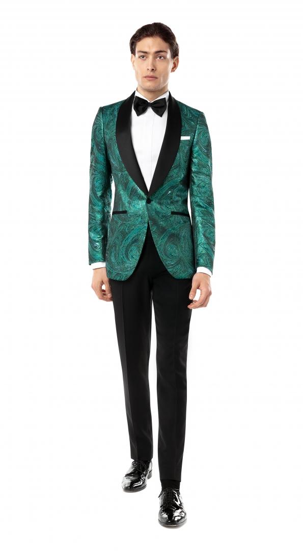 Costum Filip Cezar Everest Green