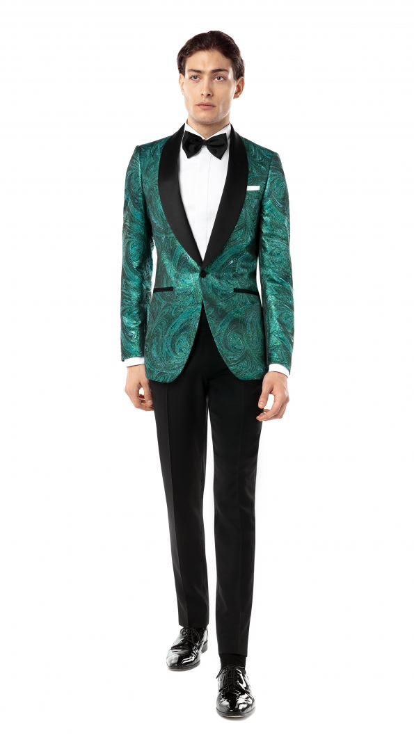 Filip Cezar Everest Green Suit