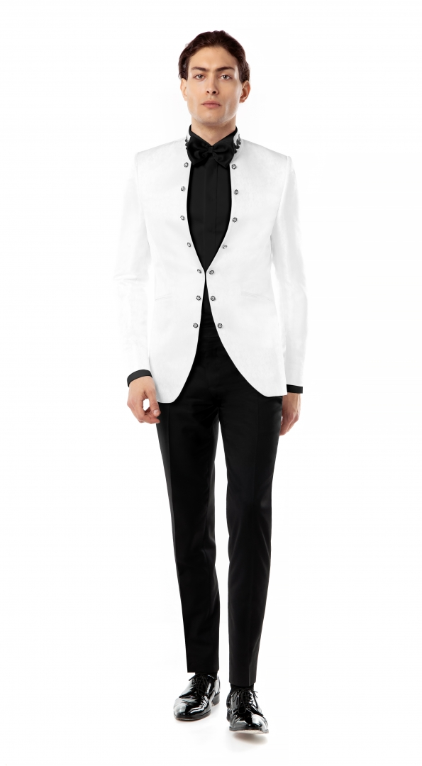 Filip Cezar Eternity White Suit