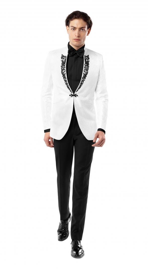 Filip Cezar Sympathy White Suit