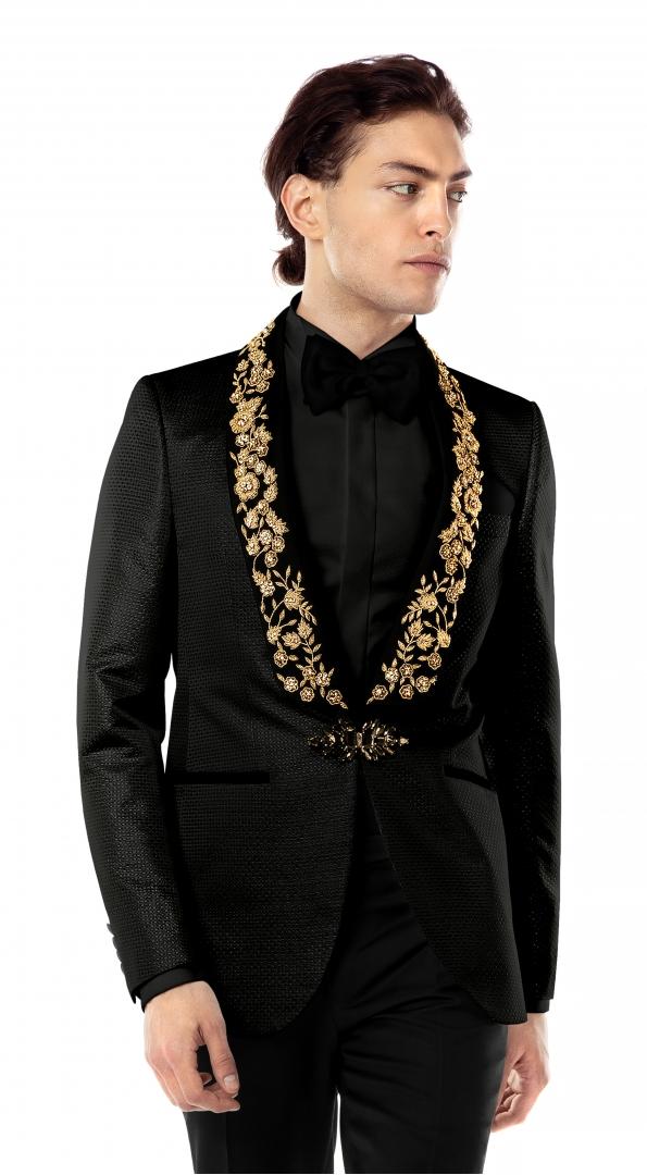 Filip Cezar Sensitive Gold Blazer