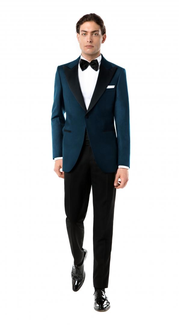 Filip Cezar Classic Blue Suit