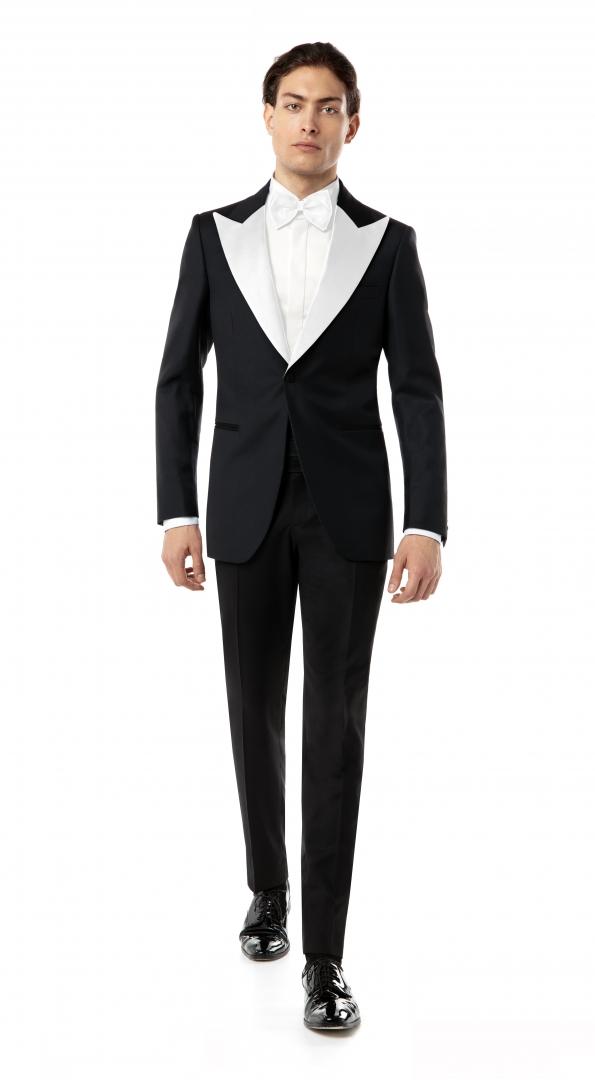 Costum Filip Cezar Black & White
