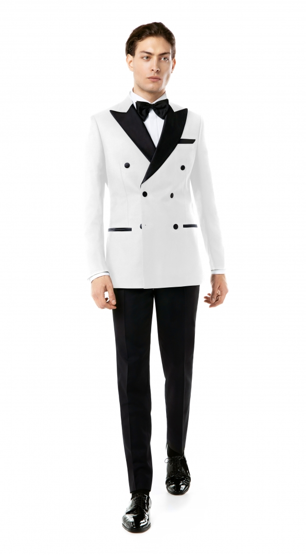 Costum Filip Cezar Double White