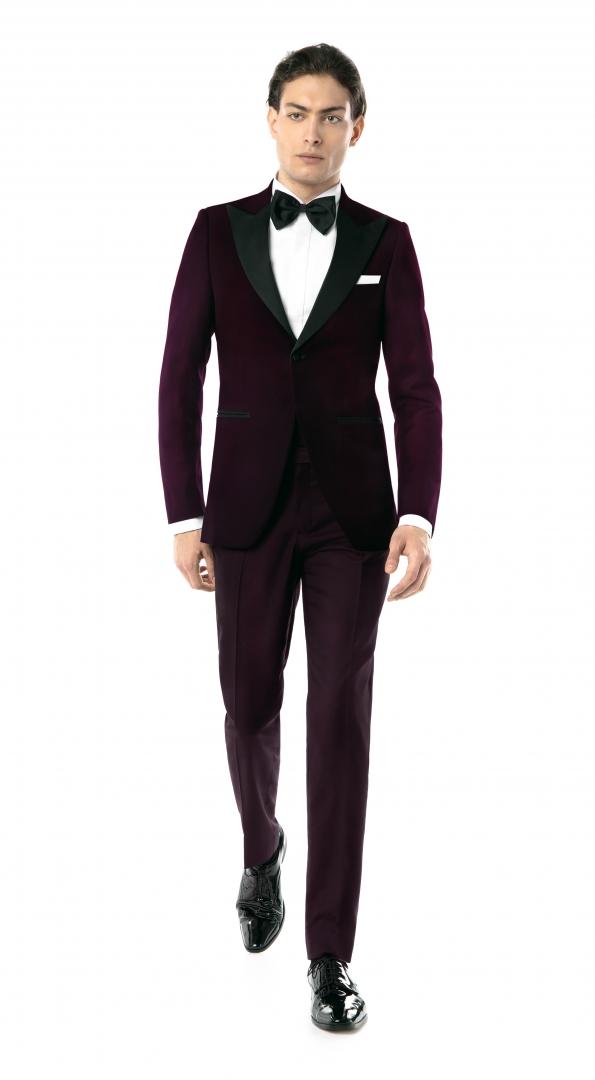 Costum Filip Cezar Classic Purple