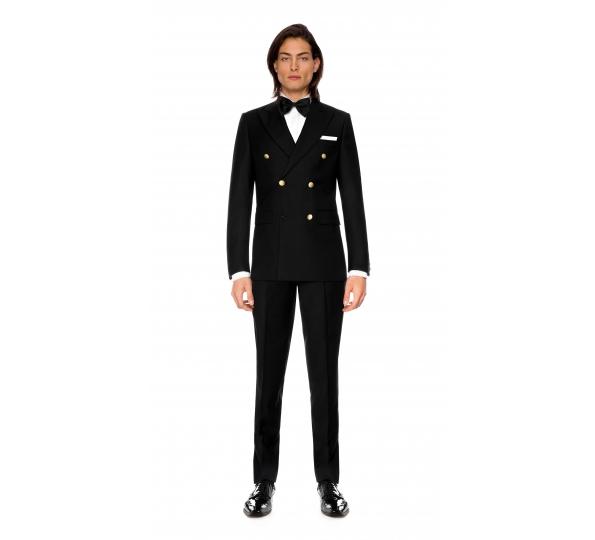 Filip Cezar Double Dark Suit
