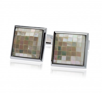 Cezar Diamond Line Cufflinks
