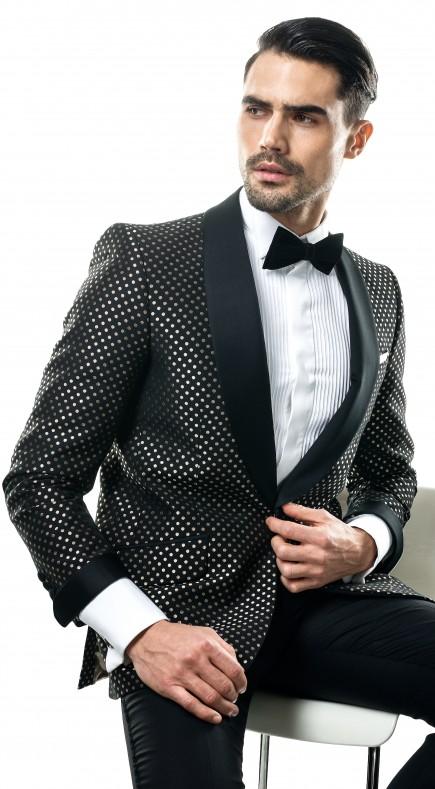 Filip Cezar Gold Dots Jacket
