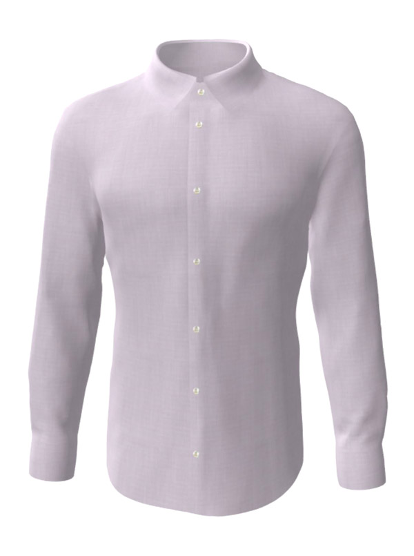 Camasa la comanda, cu textura roz, configurata 3D, din colectia de camasi la comanda pentru barbati